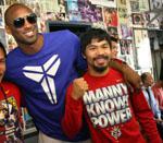 Kobe visis Manny Pacquiao