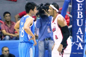 James Yap vs Calvin Abueva